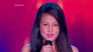 Ana Sofía cantó A media luz de C. Lenzi y E. Donato – LVK Col – Audiciones a ciegas – Cap 8 – T2