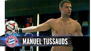 Manuel Neuer wax figure at Madame Tussauds