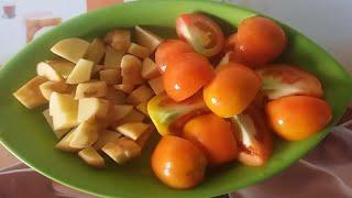 aloo tamatar ki sabji Potato tomatoes mix vegetable