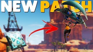 NEW UPDATE / LAUNCH PADS / PATCH NOTES | Fortnite Battle Royale