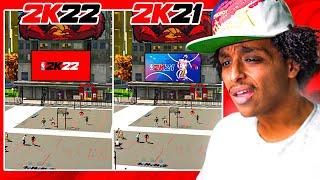 WHY DOES NBA 2K22... LOOK EXACTLY LIKE NBA 2K21