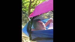 해먹 텐트 모기장 캠핑 등산 흔들그네 간이침대 차박 낚…