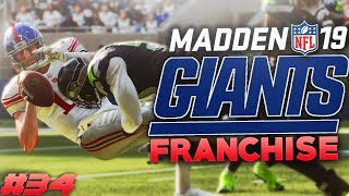 Another Massive Injury! Madden 19 New York Giants Franchise Ep. 34