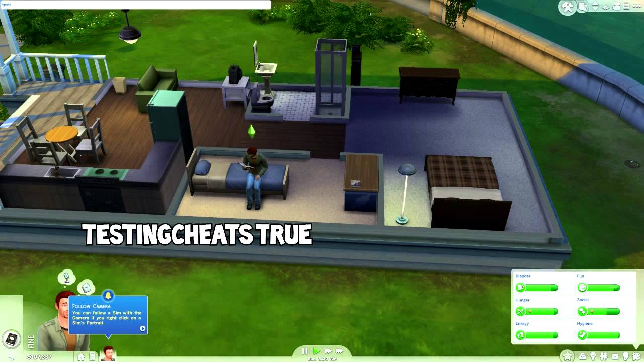 Lets Cheat: The Sims 4 Cheat Codes
