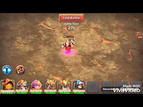 Castle Clash Solo Boss Tier 3 Without Champion