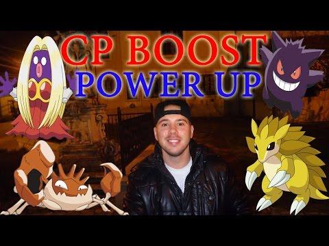 Pokemon GO - CP VÁLTOZÁS + POWER UP & GYM FIGHT TESZT