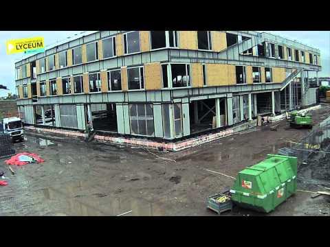 Haarlemmermeer Lyceum van zand tot gebouw