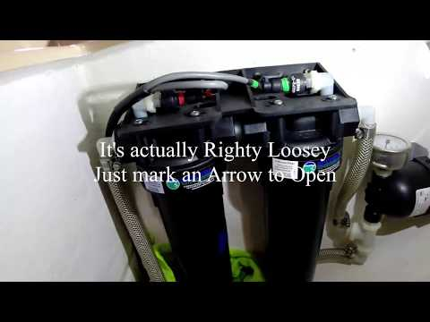 Spectra Watermaker Clean PreFilter Training Video