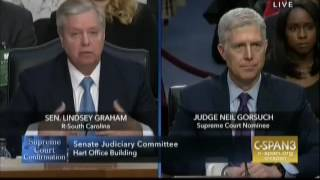 Sen  Lindsey Graham Destroys Sen  Patrick Leahy Over Garland Question