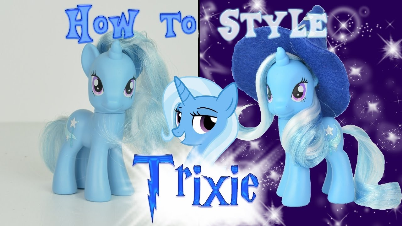 mlp hair styling tutorial mlp trixie hair styling tutorial how to style mlp 5121
