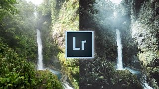 How to Edit Like @michaelkagerer Instagram Lightroom Editing Tutorial Green faded landscape Edit