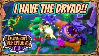 Dungeon Defenders 2 | Dryad Gameplay