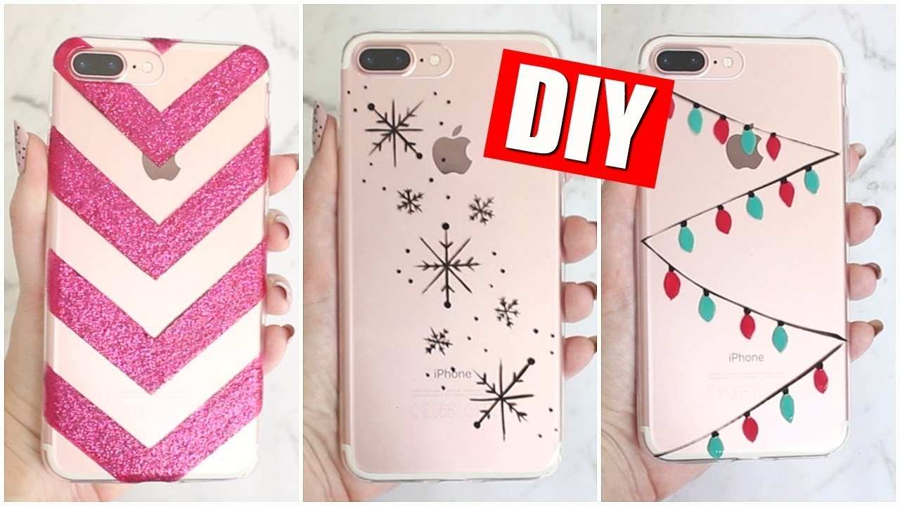 Christmas Phone Case.Diy Holiday Phone Cases For Christmas 25 Diys Of Christmas Day 14