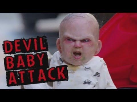 Devil Baby Attack: Evil Baby Prank Terrifies Innocent People In New York