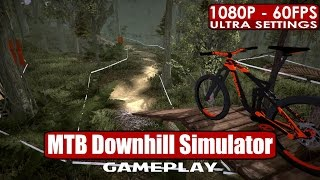 MTB Downhill Simulator gameplay PC HD [1080p/60fps]