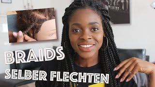 How To: Rastas flechten für Anfänger | All about Braids