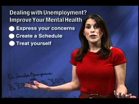 A Better You: Improve You Mental Health During Unemployment