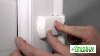 Adjusting Hinge And Keeps On A Upvc Door