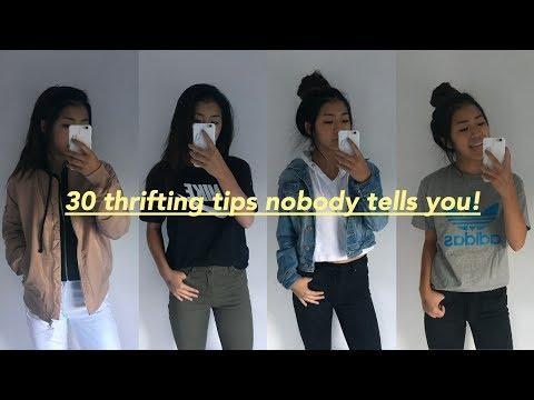 30 Thrifting Tips Nobody Tells You!!