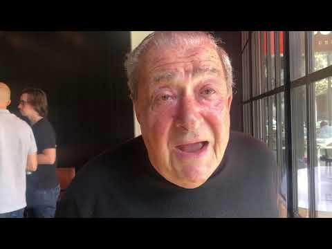 Bob arum On Mayweather vs de La Hoya  beef
