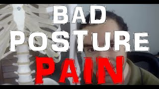 How Bad Posture and Improper Movements Cause Back Problems and Spine Pain