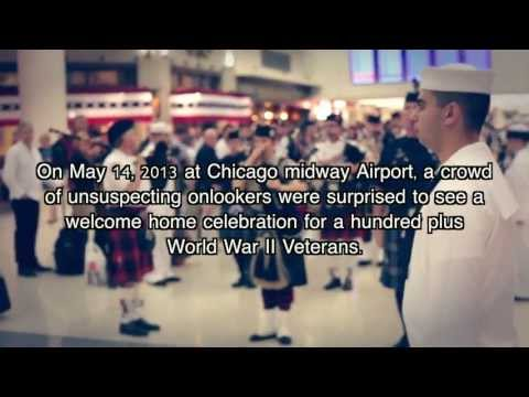 The Most Amazing Homecoming for World War II Veterans - Honor Flight Chicago