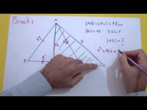 İkizkenar Üçgen Şenol Hoca Matematik