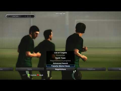 PES 2013 - Check Other Team Info And Transfer Market News In ML.