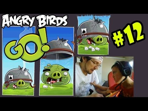 Angry Birds GO Pt. 12 - Corporal Pig, You're the WORSTEST! I GIVE UP! (iOS FACE CAM)