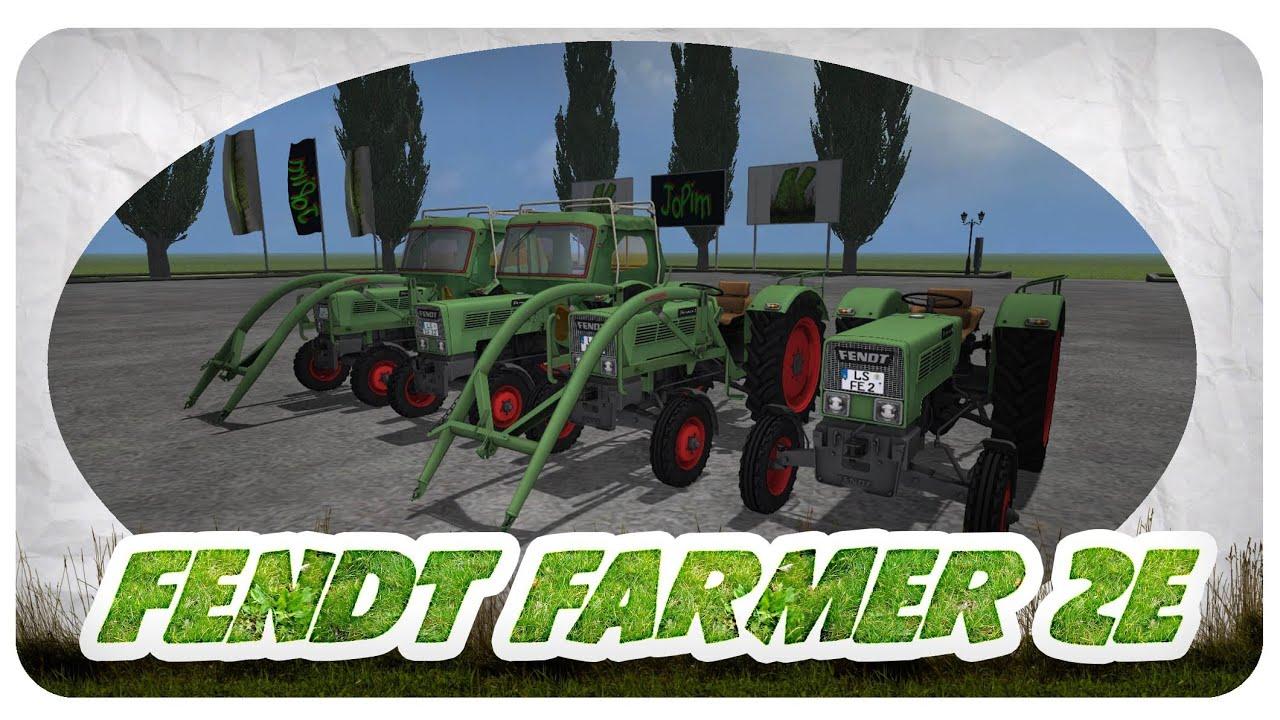 fendt farmer 2e package f r den landwirtschafts simulator. Black Bedroom Furniture Sets. Home Design Ideas