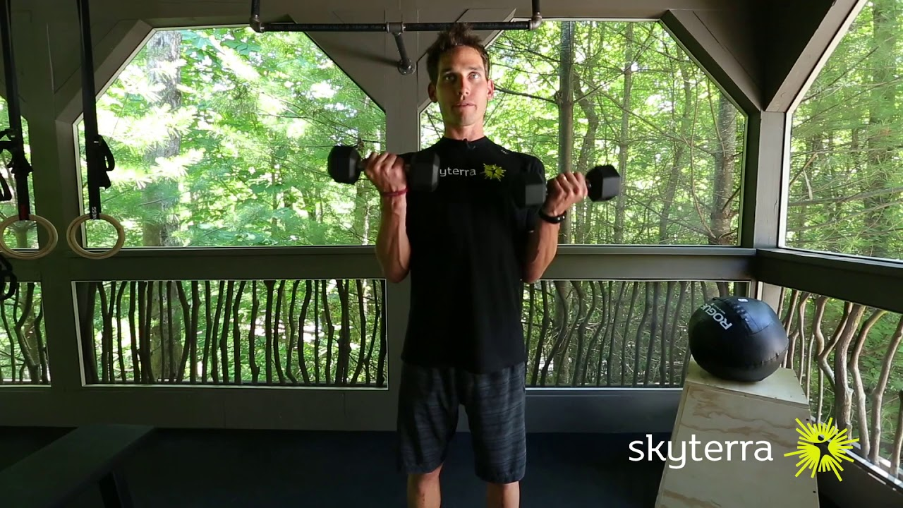 Movement Library: The Dumbbell Bicep Curl
