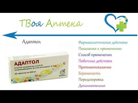 Адаптол – противотревожное лекарство
