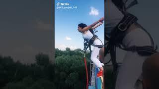 Hill climbing| full fun | beautiful place |tik tok video cute girl enjoying
