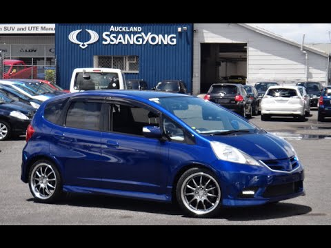 Delightful 2008 Honda Fit Jazz Sport 15 RS 1500cc Petrol Automatic/Tiptronic   YouTube