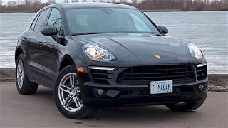 Base Porsche Macan 4 cylinder--SURPRISINGLY GOOD!