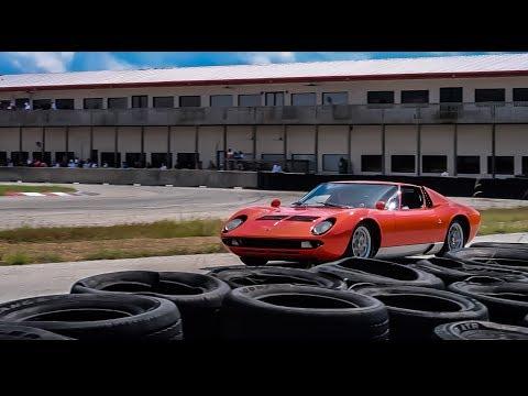 TRACKING THE $2,500,000 LAMBORGHINI MIURA HARD   Lamborghini Festival  2017