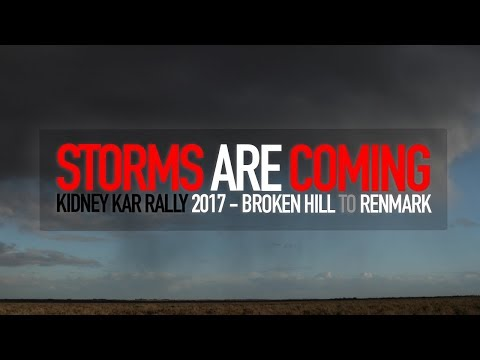 Storms cause havoc on the rally - #kkr2017
