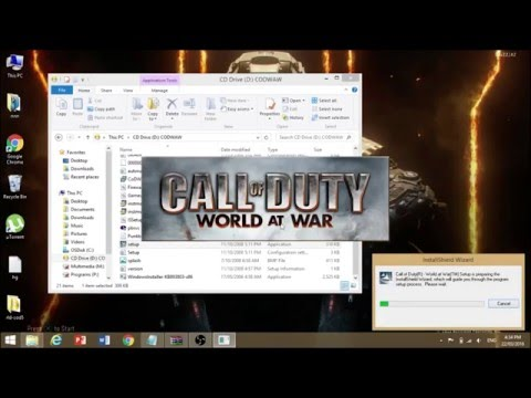 how to download and install call of duty world at war