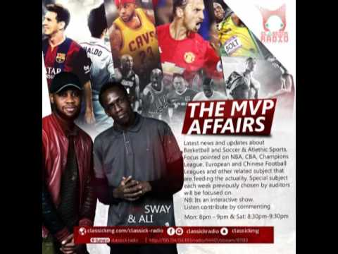THE MVP AFFAIRS 15TH April 2017