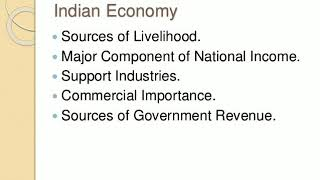 Important of agriculture and Indian economy☝️☝️