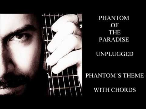 Phantom Of The Paradise Phantoms Theme Guitar Cover Lesson With