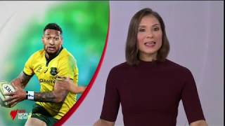 Rugby Australia Says It Intends To Terminate The Contract Of Superstar Israel Folau