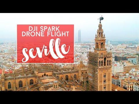 Seville by Drone   DJI Spark   Spain (2018)
