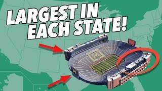 Critiquing every state's LARGEST STADIUM - Secrets and Hidden Gems