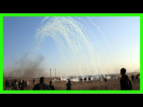Israeli strikes kill two hamas members after gaza rocket attack