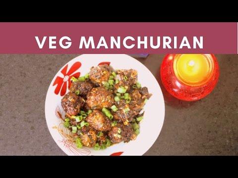 How to make Veg Manchurian restaurant style?