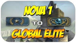One of SkitzMACHINE's most viewed videos: CSGO - Road to Global Elite - Gold Nova 1