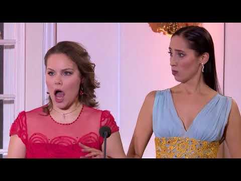 Rossini - Due Gatti - Elina Nechayeva, Ksenia Kuchukova