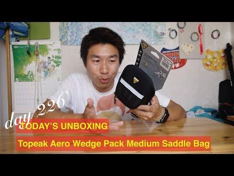 Day 226 Today's unboxing: Topeak Aero Wedge Pack Medium Saddle Bag