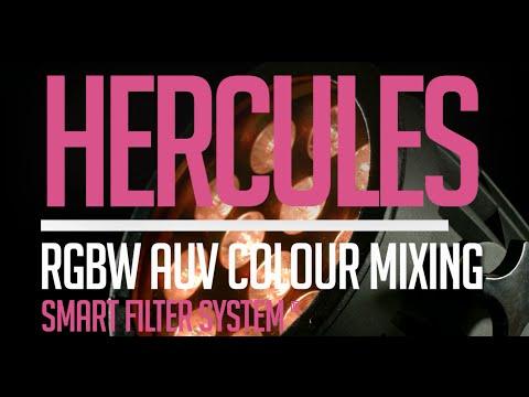 CLF Hercules: RGBWAUV PAR